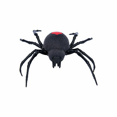 ZURU Robo Alive Battery Powered Crawling Spider Robotic Toy Black Robotic Pet