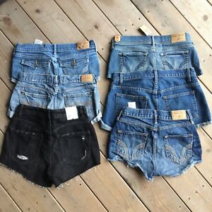 Assorted JEAN SHORTS - HOLLISTER / GARAGE / ABERCROMBIE / AA