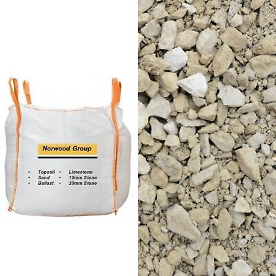 Ton Bags of Limestone Chippings - Essex Based (available in bulk)