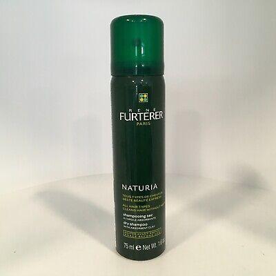 Rene Furterer NATURIA Dry Shampoo - Travel Size 1.6 oz / 75 ml *NEW & FRESH!!!