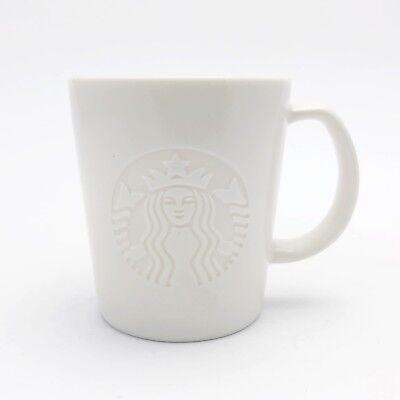 2015 Starbucks Espresso Demitasse Cup 3 oz Embossed Mermaid Logo