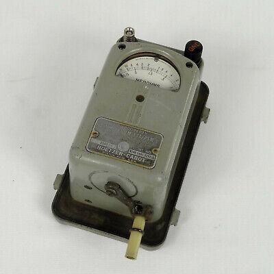 Zm-13a-psm-1 Megger Insulation Tester Megohmmeter 500 V 0-100 Meg Military