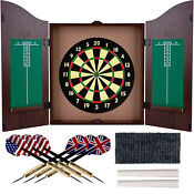 Dart Board Cabinet Set