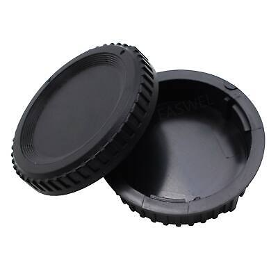 2PCS Body Lens Cap Cover (Front + Rear)FOR Nikon D60/D50/D40/D40X for sale  Shipping to Canada