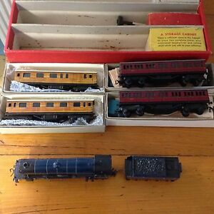 Trix Twin Model Railway Train set 1950's Harristown Toowoomba City Preview