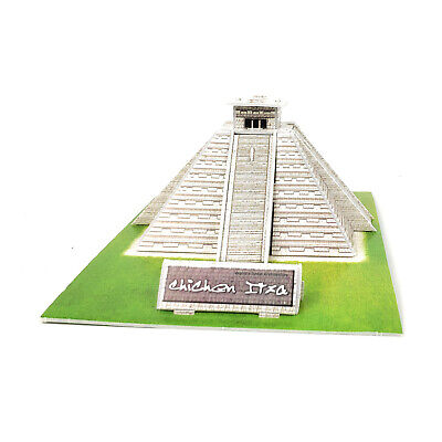 3d Pyramid Puzzle - TriPro 3D Jigsaw Puzzle Worlds Greatest Architecture : Mexico Maya Pyramid
