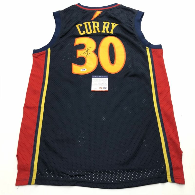 7bfe797c Stephen Curry signed jersey PSA/DNA Warriors Autographed Steph $699.99.  Seller: gs-memorabilia