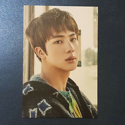 Jin - Official Postcard Armypedia BTS You Never Walk Alone