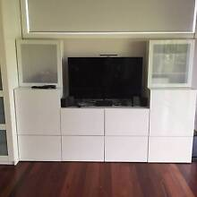 Storage cupboards and TV unit Yowie Bay Sutherland Area Preview