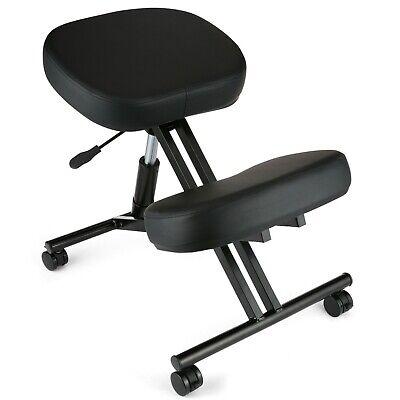 Ergonomic Kneeling Chair Adjustable Stool 250 Lbs Knee Rest For Home Office.