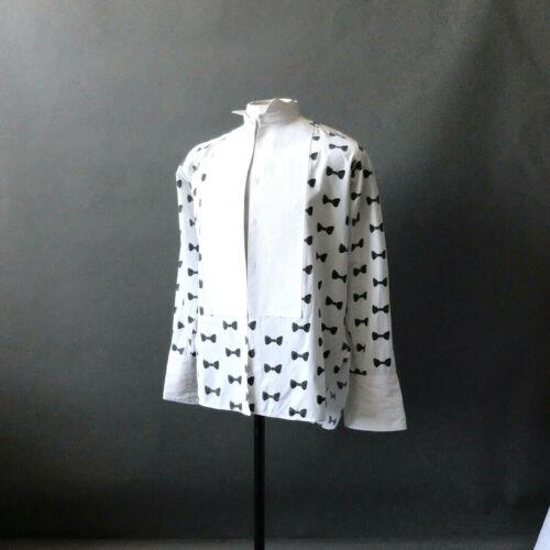 Unique Tuxedo Shirt Creative Black Bow Tie Novelty Rawlinson Marking England 15