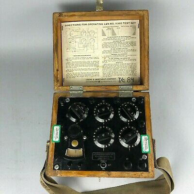 Leeds Northrup 5305 Galvanometer Test Set - Vintage