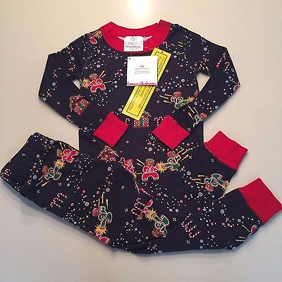 HANNA ANDERSSON Boy's - Girls 100% Cotton Pajama Set,3 years,90 NWT!! EXQUISITE!
