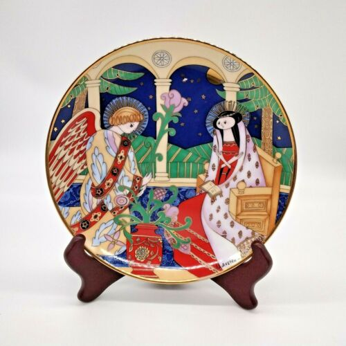House Of Faberge Collector Plate The Annunciation 1991 Franklin Mint Limited