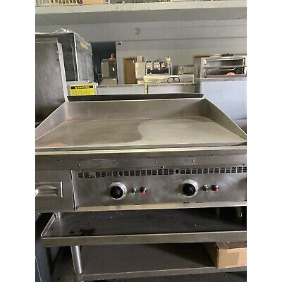 Used- Keating 36 Flat Griddle Natural Gas