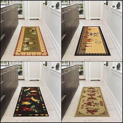 Non Slip Long Washable Rooster Runner Rug Indoor Mat Floor Carpet ...