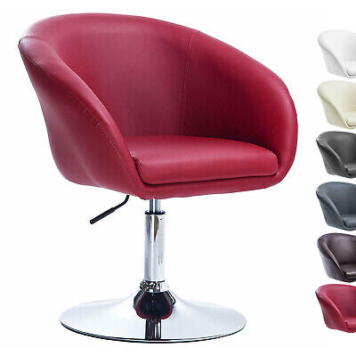 1 Bar Stool Armchair Sofa Adjustable Breakfast Kitchen PU Leather Chair Gas Lift