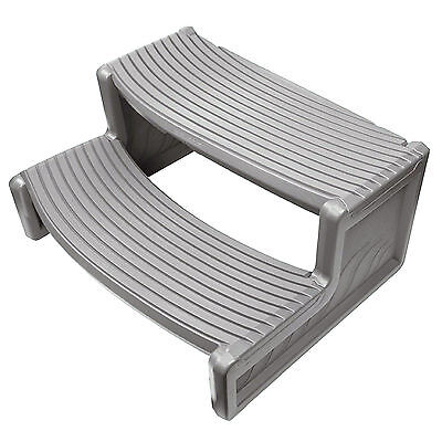 Confer Plastics HS2 Grey Resin Handi-Step For Spa RV, Campers and Hot Tubs