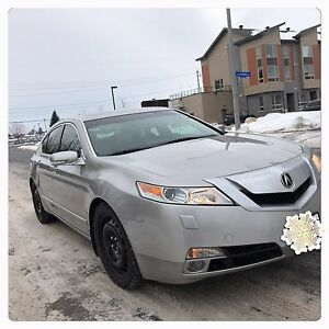 Acura TL AWD with technology package mint condition LOW Mileage