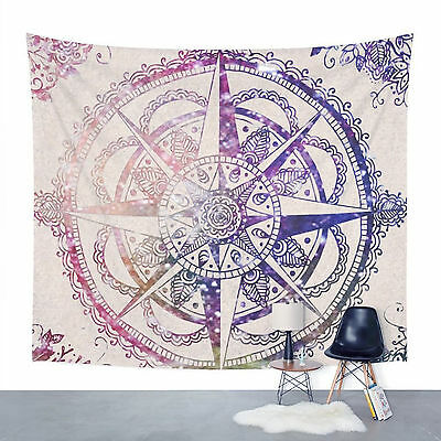 Indian Wall Decor Hippie Tapestries Bohemian Mandala Tapestry Wall Hanging Throw