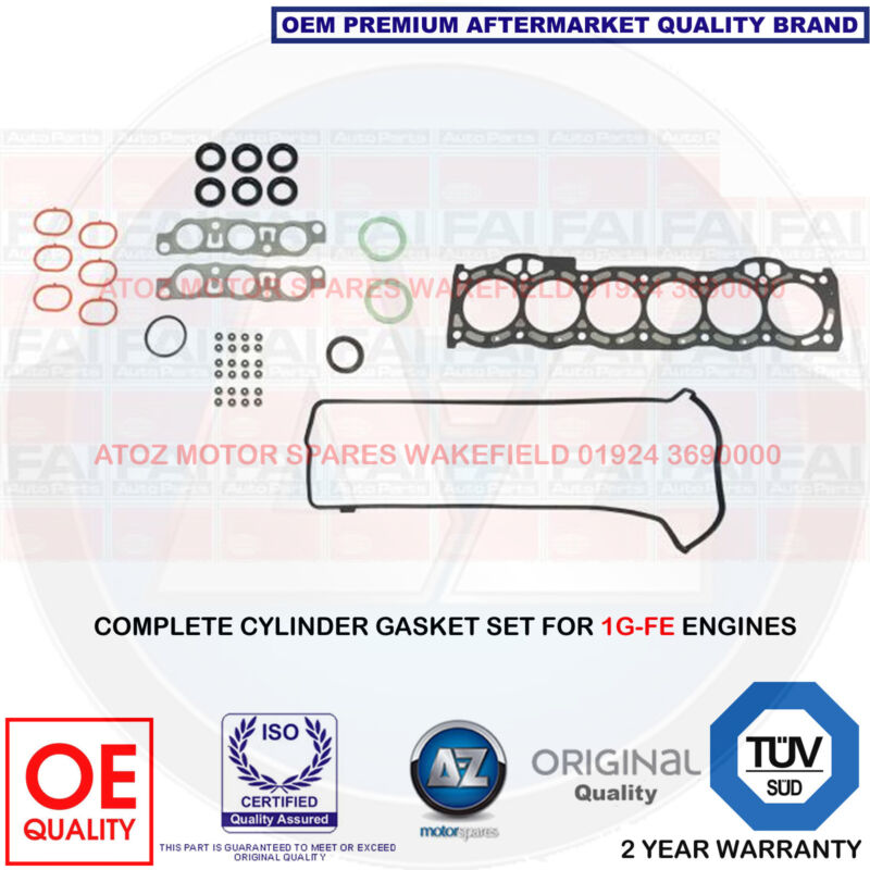 FOR LEXUS IS 200 IS200 2.0 CYLINDER HEAD GASKET SET KIT 1G-FE