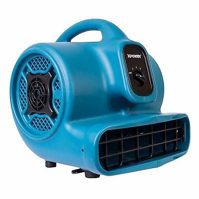 Xpower P-400 14 Hp Industrial Air Mover Carpet Dryer Floor Blower Floor Fan