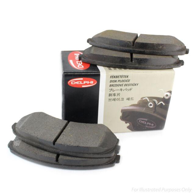 51.31mm Wide Delphi Front Brake Pads Genuine OE Quality Service Braking