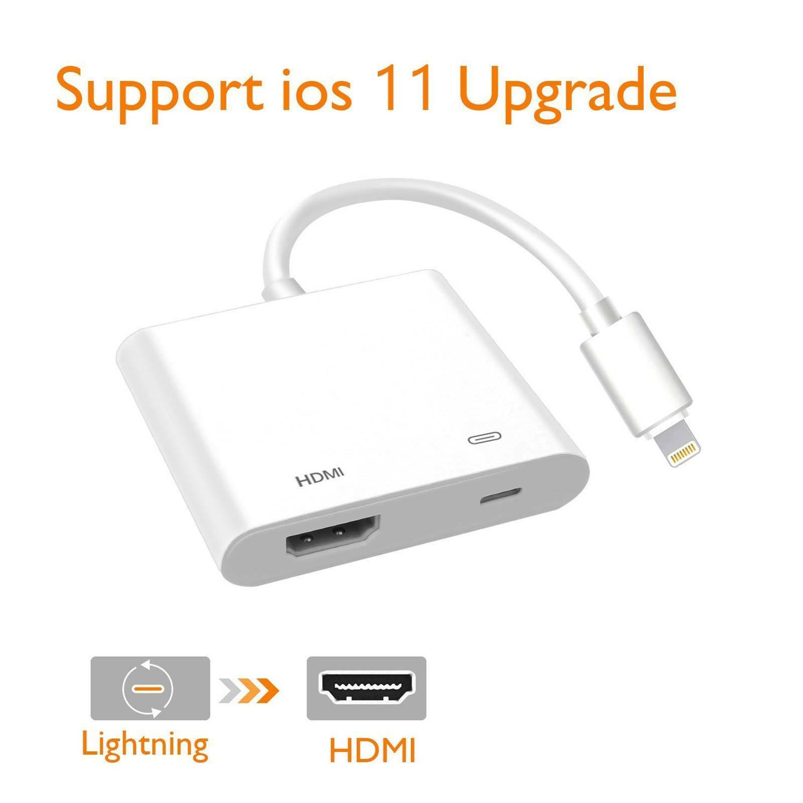 Handy-zubehör Hell 8 Pin Lightning Zu Hdmi Digital Tv Av Adapter Kabel Für Apple Ipad Iphone 7 8 X A/v-kabel & Adapter