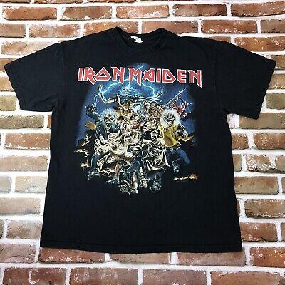 Iron Maiden Shirt Best Of The Beast Black Band T-Shirt Rock Metal