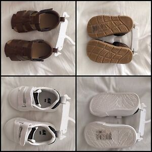 2 Pairs H&M size 18/19 Baby Boy Shoes