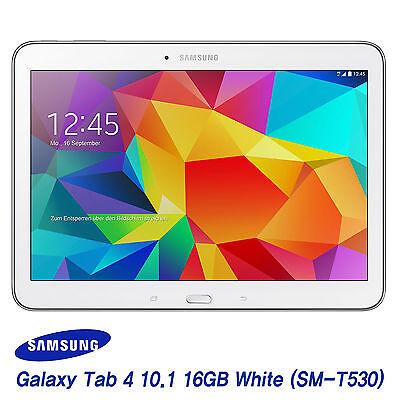 [Samsung] Galaxy Tab 4 10.1 SM-T530 16GB, Wi-Fi Tablet PC Pad (White) - FedEx