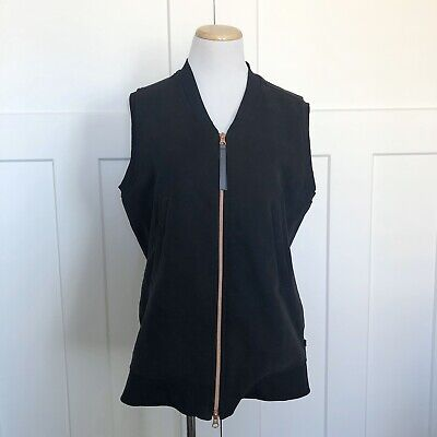 Lululemon Womens Departure Vest Size 6 Black Athleisure