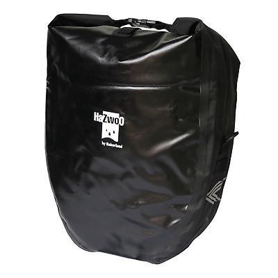 Haberland H20 Fahrrad Packtasche Doppelset 50 L Schultergurt Griff Wasserdicht