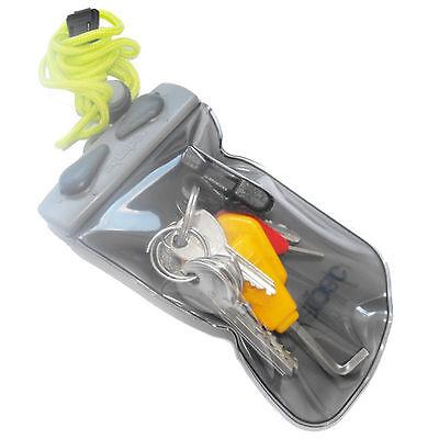 AQUAPAC Keymaster Waterproof pouch for Keys cash cards inhalers NEW wallet 608