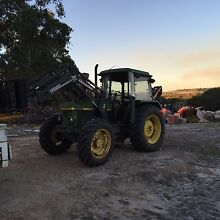 John Deere 2850 tractor 4WD FEL Guildford Swan Area Preview