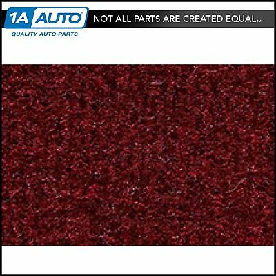 for 1984-93 Dodge Daytona 2 Door Cutpile 825-Maroon Complete Carpet Molded