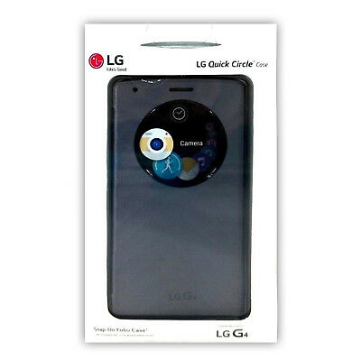 - LG Quick Circle Snap On Battery Cover Ultra-Thin Folio Case For LG G4