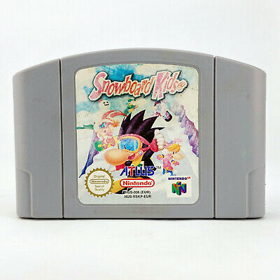 Snowboard Kids Nintendo 64 N64 PAL UK Snowboarding Winter Sports