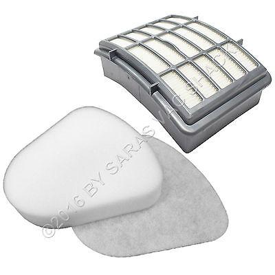 HEPA & Foam Filters for Shark Navigator Lift-Away Nv350 Nv351 Nv352 Nv355 Nv357