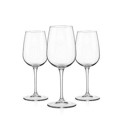 Bormioli Rocco 3x Weinglas Spazio 250 ml, Wein-Kelch Weißwein Rotwein Weinbecher