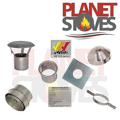 Flexible Flue Chimney Liner Installation Kit Amp Cowl For