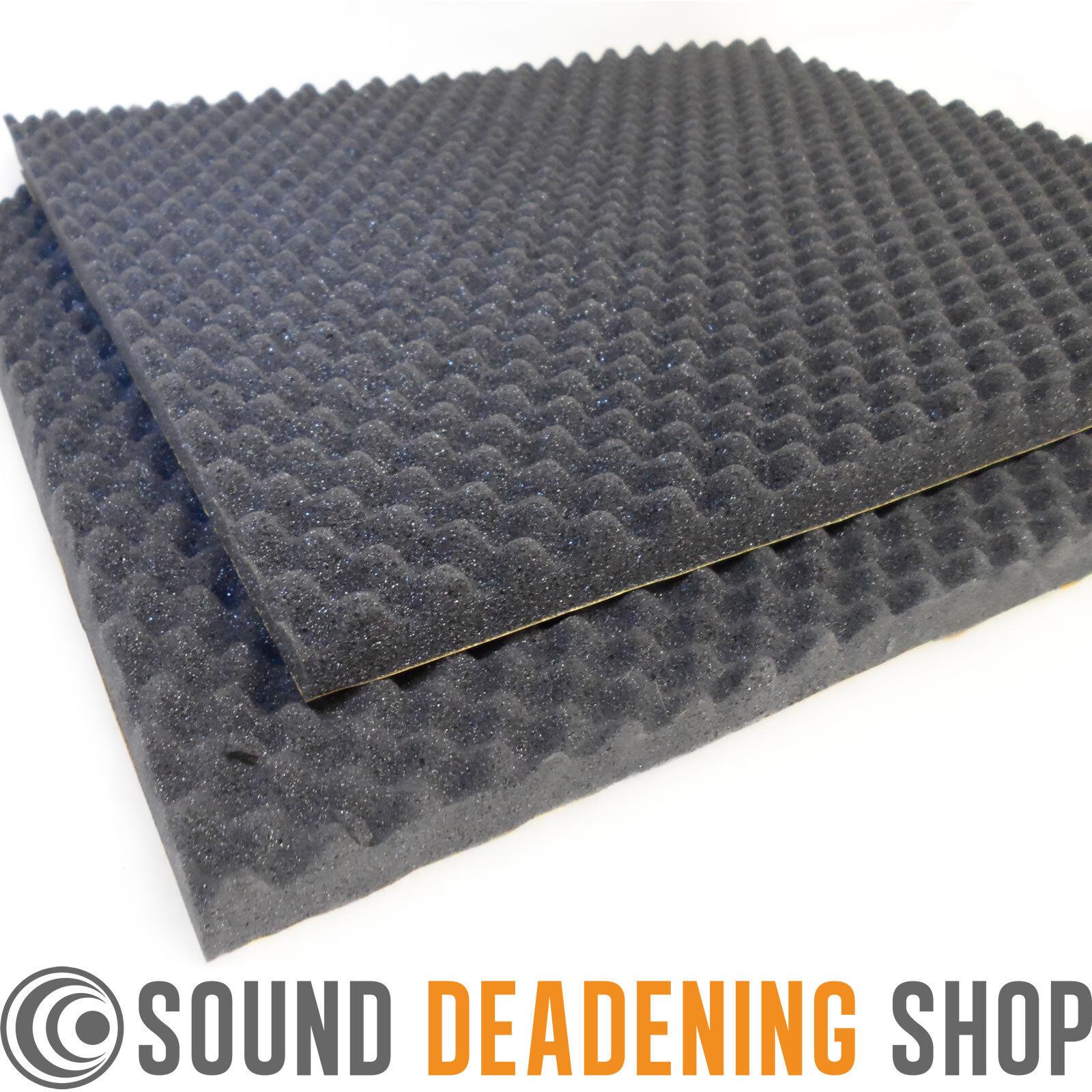 silent coat sound absorber 35mm 2 sheets acoustic foam car deadening proofing. Black Bedroom Furniture Sets. Home Design Ideas