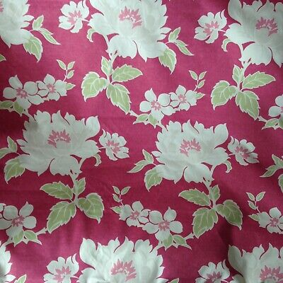 Gorgeous & Vibrant Laura Ashley Soft Furnishing Fabric,lovely colourful design