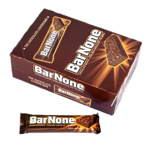 "Iconic Candy ""Bar None"" Chocolate Bar"