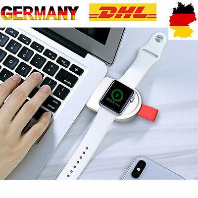 Qi Drahtlose Ladegerät Pad Charger Ladestation Für Apple Watch iWatch 3 2 1