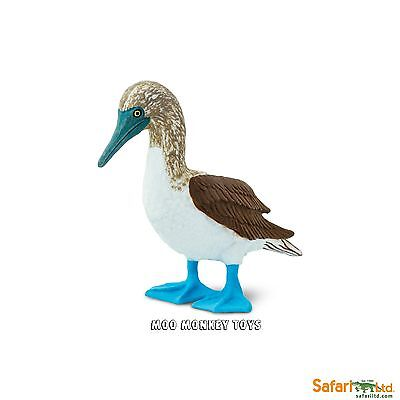 BLUE FOOTED BOOBY  Safari Ltd # 150529 Wings of The World Bird REPLICA  NEW 2017