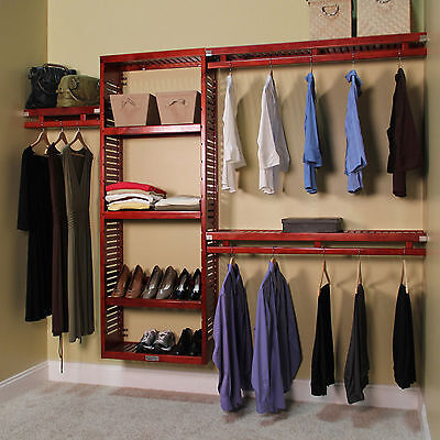Use A Closet Doubler Or Closet Kit To Give You More Closet Space.