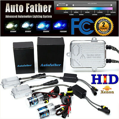 55W HID KIT Xenon Headlight Slim H1 H3 H7 H8 H9 H11 9006HB4 9005HB3 All Colors