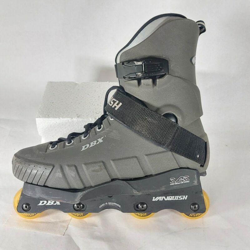 DBX VANQUISH Aggressive Inline Skates Rollerblades Mens Size 12 Shock Absorption