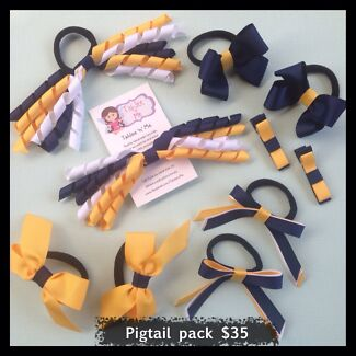 School hair accessory pack! Ringwood North Maroondah Area Preview